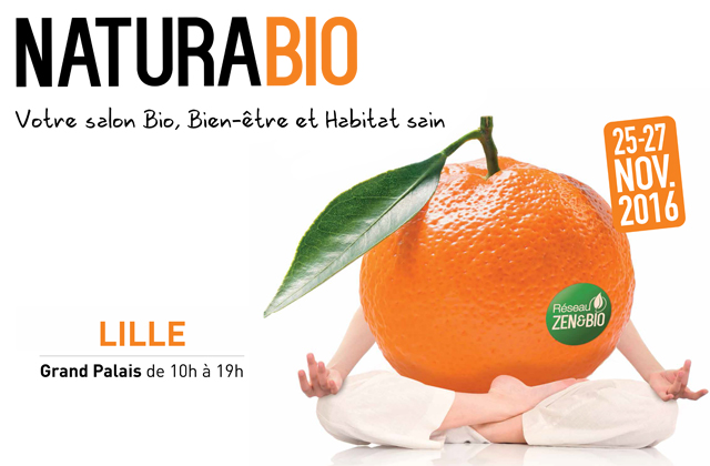 NaturaBio, le plus grand salon Bio du Nord de la France rouvre ses portes à Lille Grand Palais !