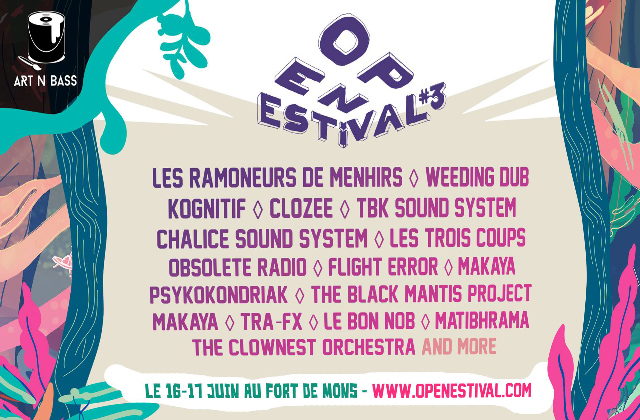 Open Estival par l'association Art'n Bass