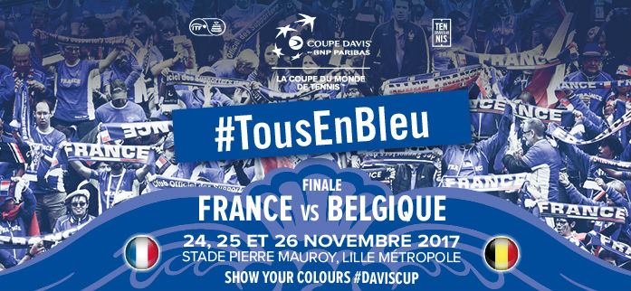 Finale de la Coupe Davis: France VS Belgique