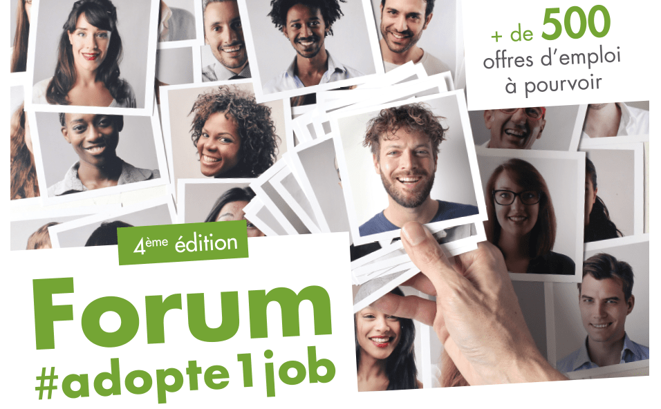 Forum Adopt'1 Job à Tourcoing Jeudi 4 Octobre
