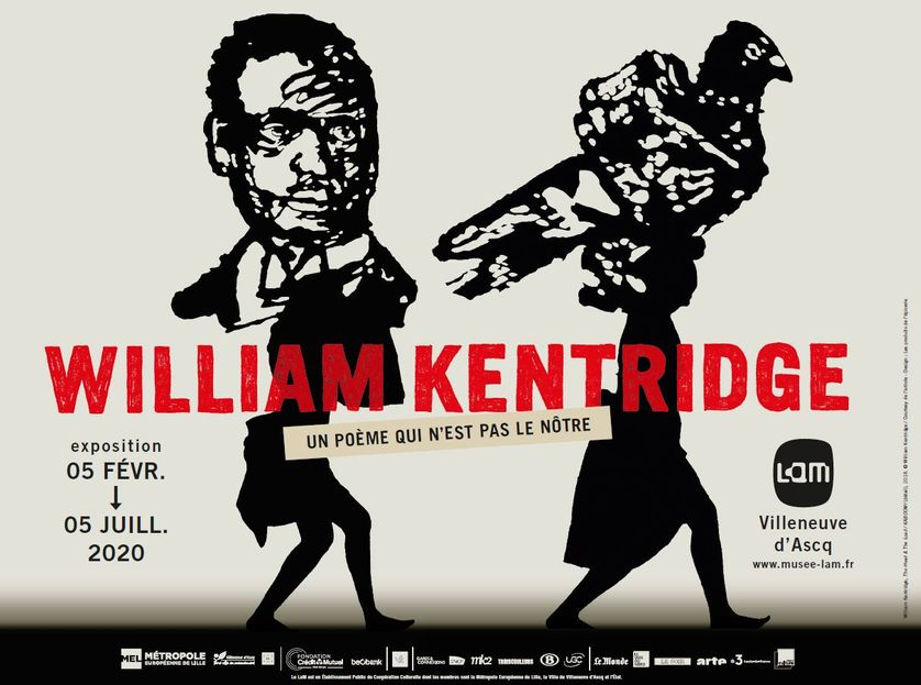 Visitez l'exposition William Kentridge du LaM