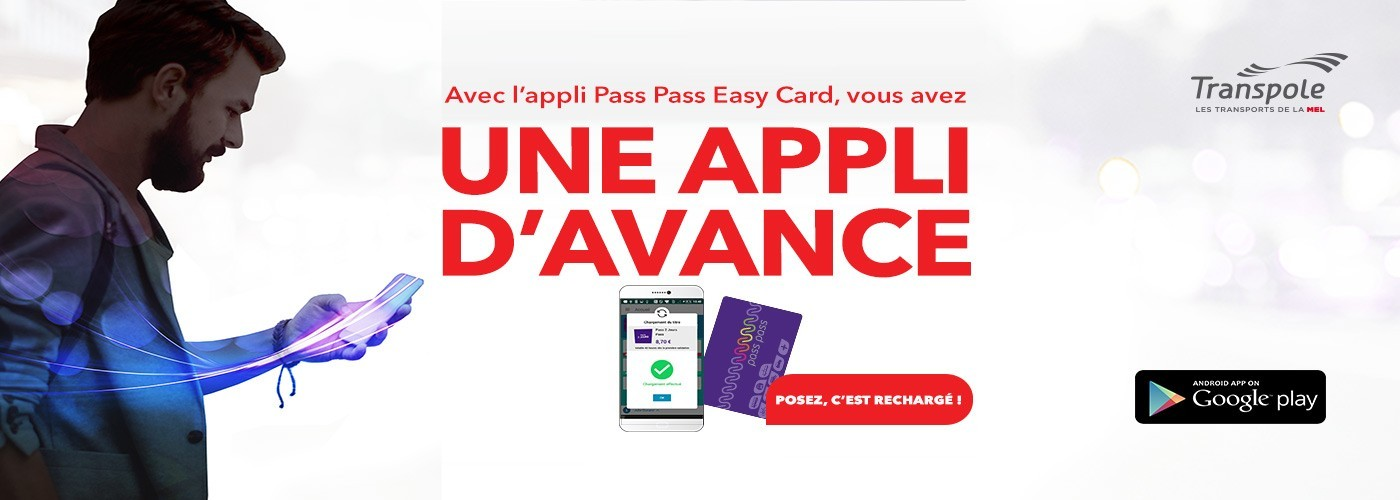 Pass Pass Easy Card nouvelle version !